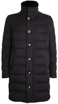 Kiton Removable-Gilet Puffer Coat