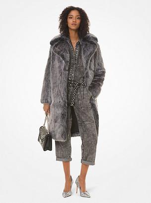 MICHAEL Michael Kors Faux Fur Coat