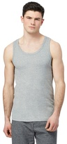 Red Herring Grey Ribbed Vest