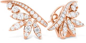 Hearts On Fire 18K Rose Gold 1.62 Ct. Tw. Diamond White Kites Crest Earrings