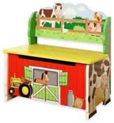 Teamson Fantasy Fields Happy Farm Storage Bench
