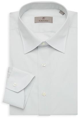 Canali Long-Sleeve Dress Shirt