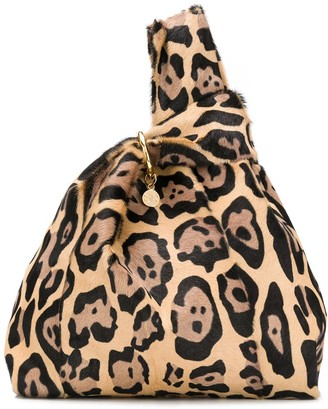 Simonetta Ravizza Furrissima leopard-print tote bag