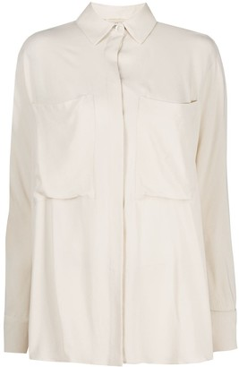 Semi-Couture Chest Patch Pocket Shirt