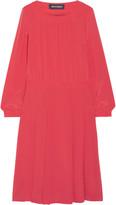 Vanessa Seward Bâle silk crepe de chine dress