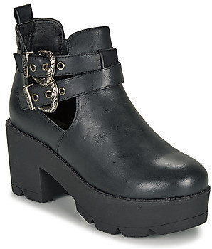 Coolway NAHIA women's Low Ankle Boots in Black