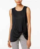 Bar III Twist-Front Tank Top, Only at Macy's