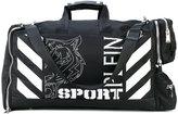 Plein Sport - printed holdall - men - Leather/Nylon - One Size