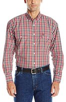 Wrangler Men's George Strait Two Pocket Long Sleeve Button-Down Woven Shirt