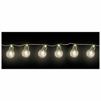 Amscan Bulb LED 72 ft. 10-Light Globe String Light Bulb Shape: Standard
