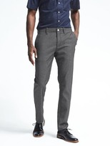 Banana Republic Aiden Twill Wool-Blend Pant