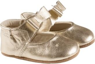 Robeez Sofia Bow Mary Jane Crib Shoe