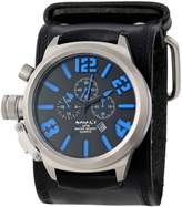 Nemesis Men's KIN088L Black Collection Chronograph Limited Edition Watch