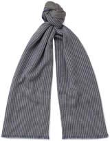 Loro Piana - Striped Cashmere Scarf