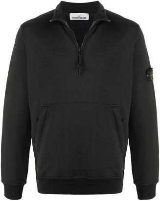 Stone Island Half-Zip Pullover Jumper