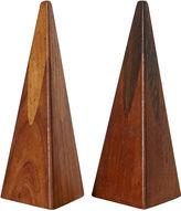 One Kings Lane Vintage 1960s Danish Rosewood Shakers, Pair