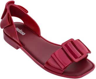 Melissa Open-Toe Flat Sandals - Aurora