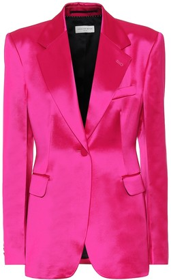 Dries Van Noten Satin blazer