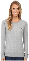 U.S. Polo Assn. Polka Dot Crew Neck Sweater