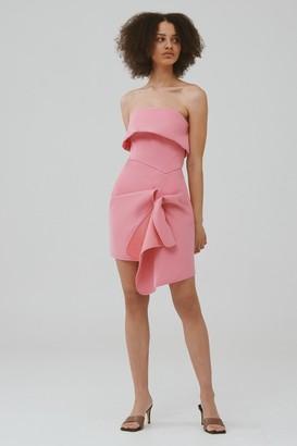 C/Meo NEW STAGE MINI DRESS Hibiscus