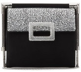 Roger Vivier Embellished Satin Shoulder Bag