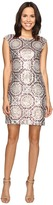 rsvp Pleasant Pattern Dress w/ Sequin