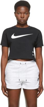 Nike Black Sportswear Swoosh T-Shirt