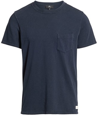 7 For All Mankind Boxer Pocket T-Shirt