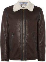 Wrangler Fleece Lined Aviator Jacket