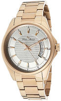 Lucien Piccard 98660-RG-22S Men's Excalibur Rose-Tone Stainless Steel