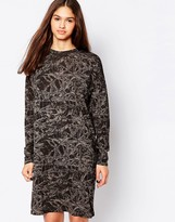 Minimum Printed Shift Dress