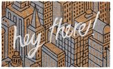 Pottery Barn Hey There Print Doormat