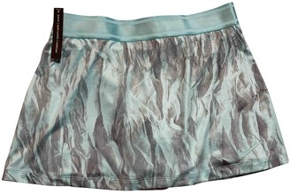 Nike Turquoise Cotton - elasthane Skirt for Women