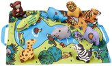 Melissa & Doug Take-Along Wild Safari Play Mat Playset