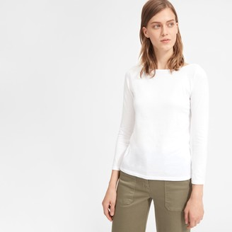 Everlane The Cotton Boatneck Tee