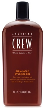 American Crew Firm Hold Styling Gel, 33.8-oz, from Purebeauty Salon & Spa
