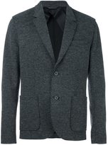 Lanvin deconstructed two button jacket - men - Cotton/Nylon/Viscose/Wool - 52