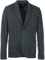 Lanvin deconstructed two button jacket - men - Cotton/Wool/Nylon/Viscose - 52