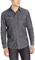Lee Men's Textured Chambray Worker Shirt