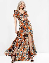 Glamorous Split Front Maxi Dress