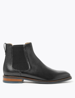 Marks and Spencer Leather Chelsea Boots