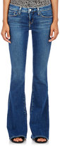 L'Agence Women's Flared Elysee Jeans-BLUE