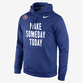 """Nike Make Someday Today"""" (MLB Cubs) Men's Pullover Hoodie"""