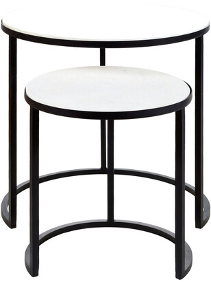 Surya Hearthstone Nesting Tables