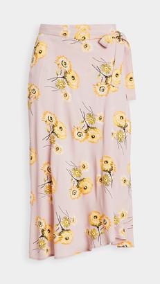 Madewell Wrap Midi Skirt