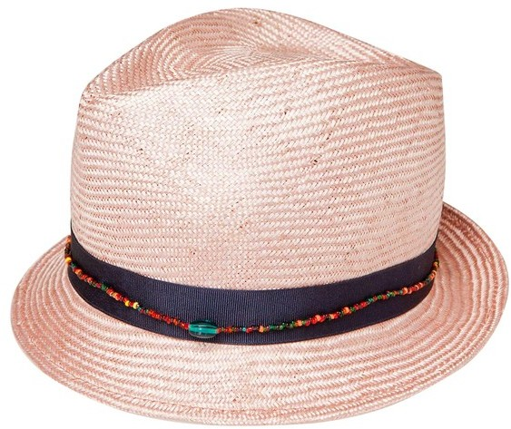 Selima Bao Pink Hat
