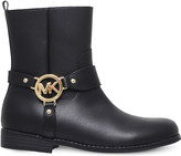 MICHAEL Michael Kors Zia-Emma leather ankle boots 6-10 years