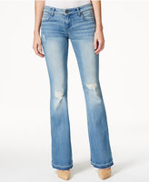 KUT from the Kloth Gisele Ripped Organized Wash Flared Jeans