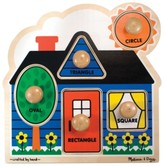 Melissa & Doug Kids Toy, First Shapes Jumbo Knob Puzzle