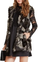 BCBGeneration Dyed Faux Fur Vest